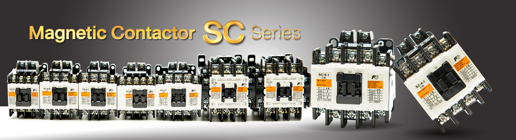 Magnetic Contactor SC Series