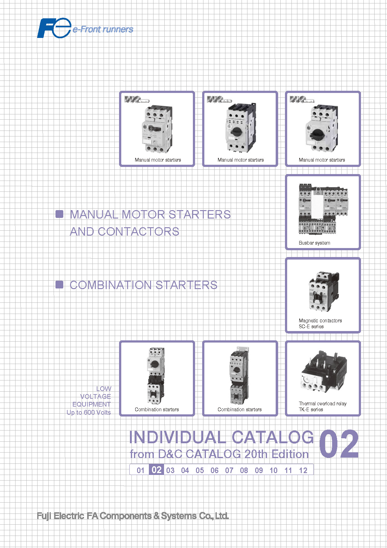 DISTRIBUTION&CONTROL CATALOG Degest 20th Edition