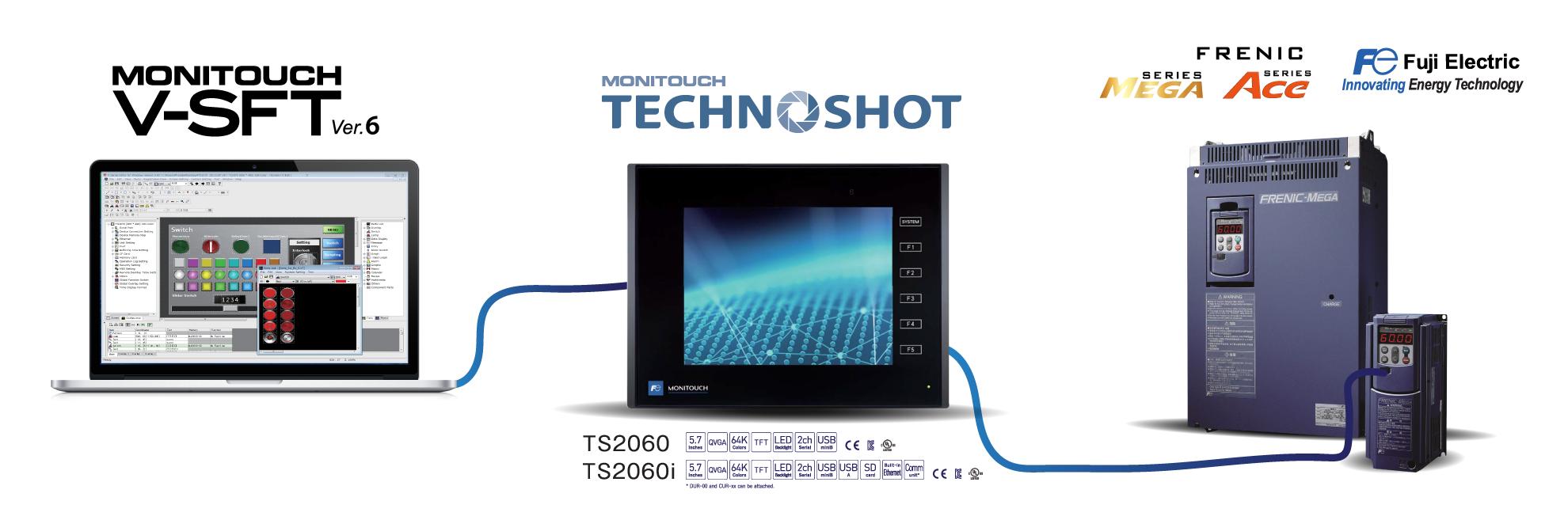MONITOUCH Software V-SFT - ตัวแทนจำหน่าย Fuji Electric ใน