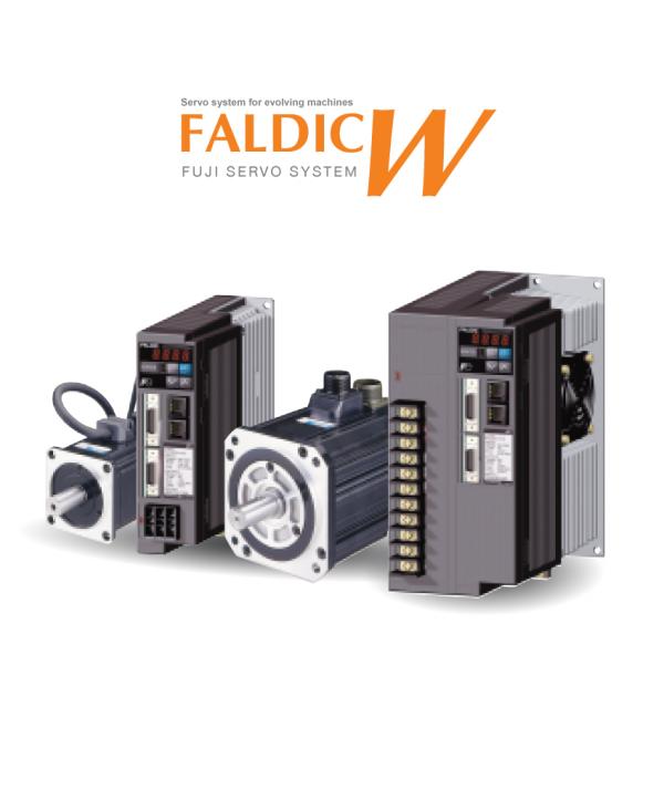 Servo Drives The FALDIC W Series