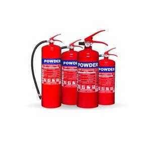 Portable Dry Powder Fire Extinguishers