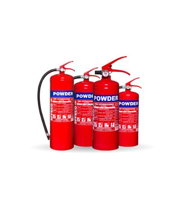 Portable Dry Powder Fire